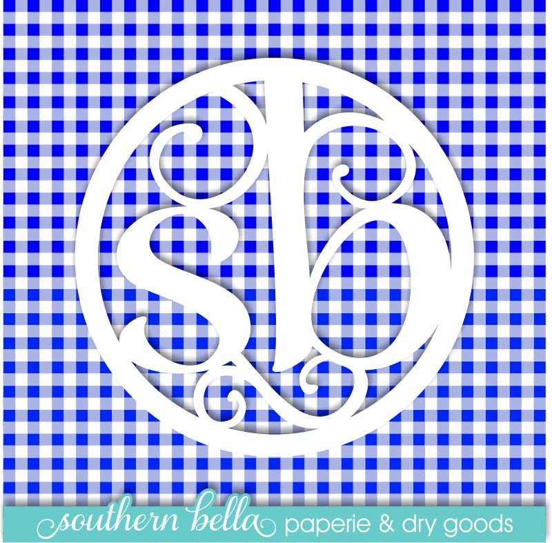 Gingham Plaid Vinyl Sheet Bright Blue Ghmbrtblu