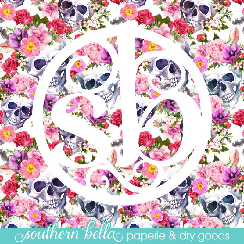 12x12 patterned vinyl sheet sugar skull candy skull roses vinyl outdoor htv or