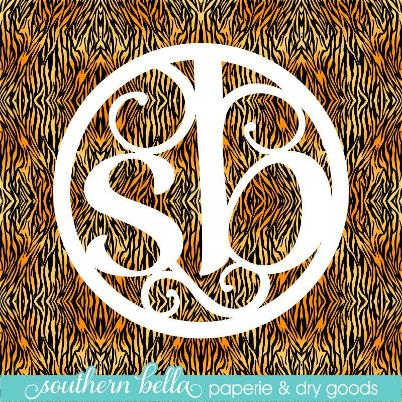 12x12 Patterned Vinyl Sheet Tiger Print Vinyl Tiger