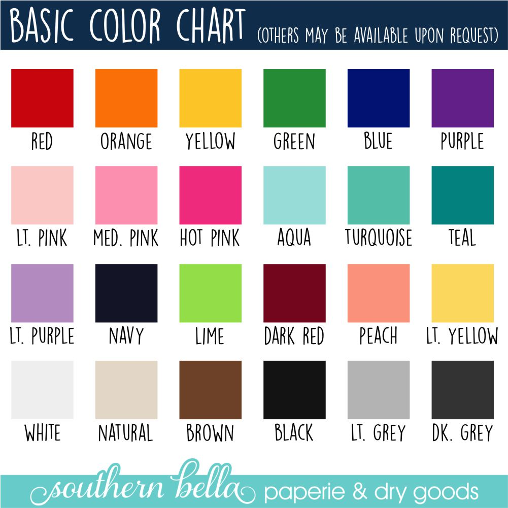 Basic color charts aol image search results nvjuhfo Image collections
